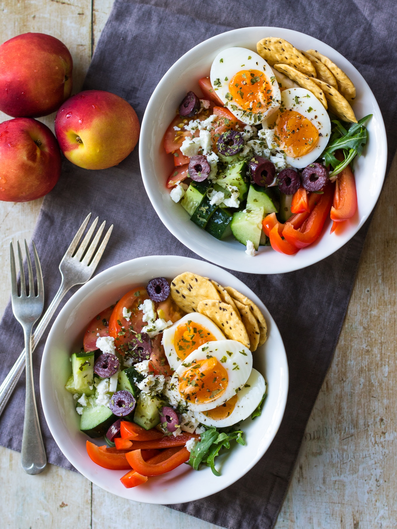 Meal Prep Breakfast Bowls Greek Style